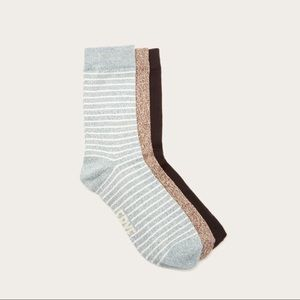 Frye Supersoft 3 Pack Crew Socks